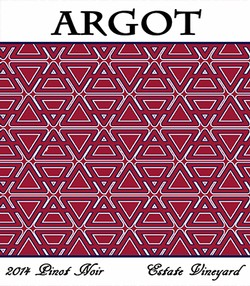 Argot 2014 'Estate Vineyard' Pinot Noir